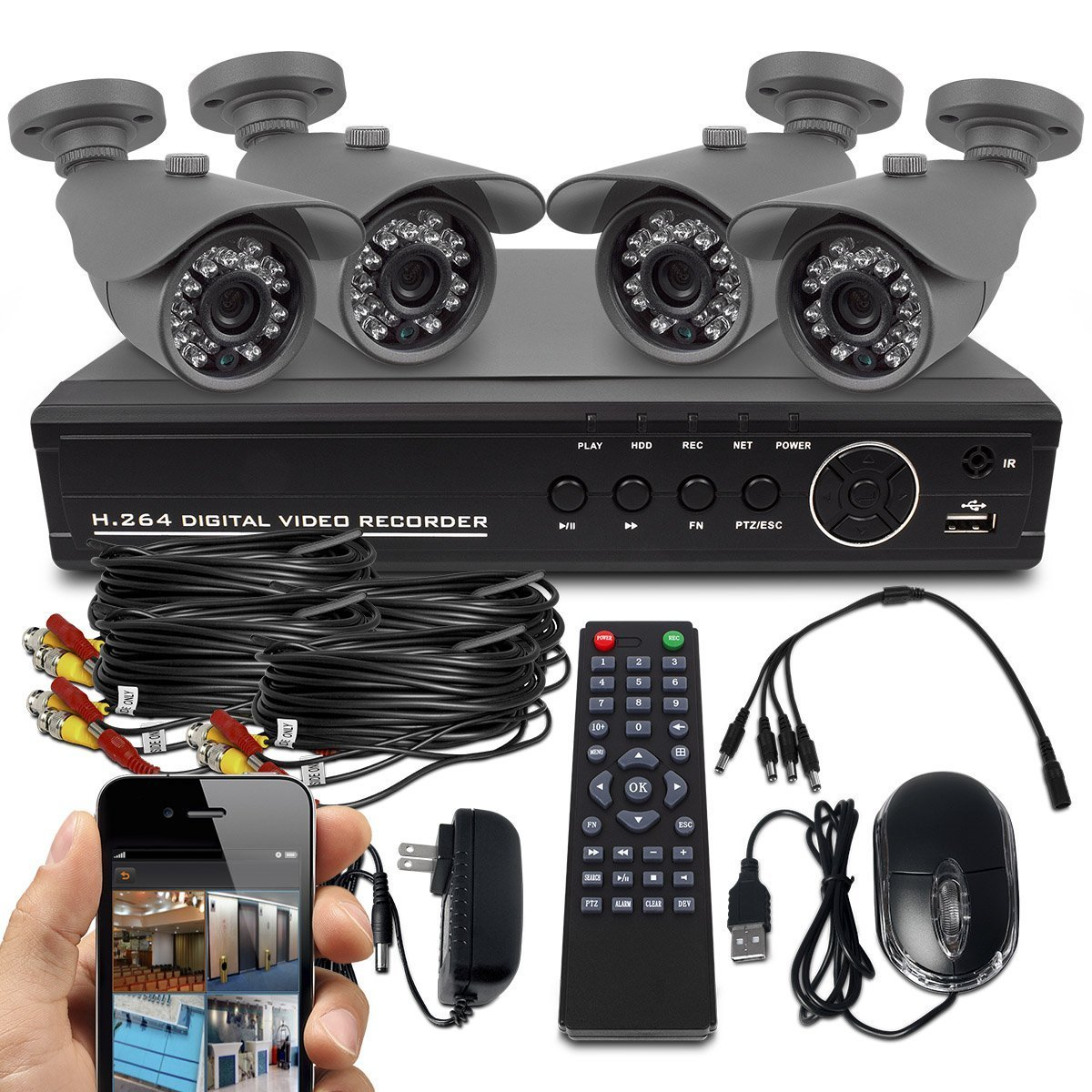 Diy Home Security Cameras Reviews Top 10 Outdoor Security Camera System Reviews Best In 2019