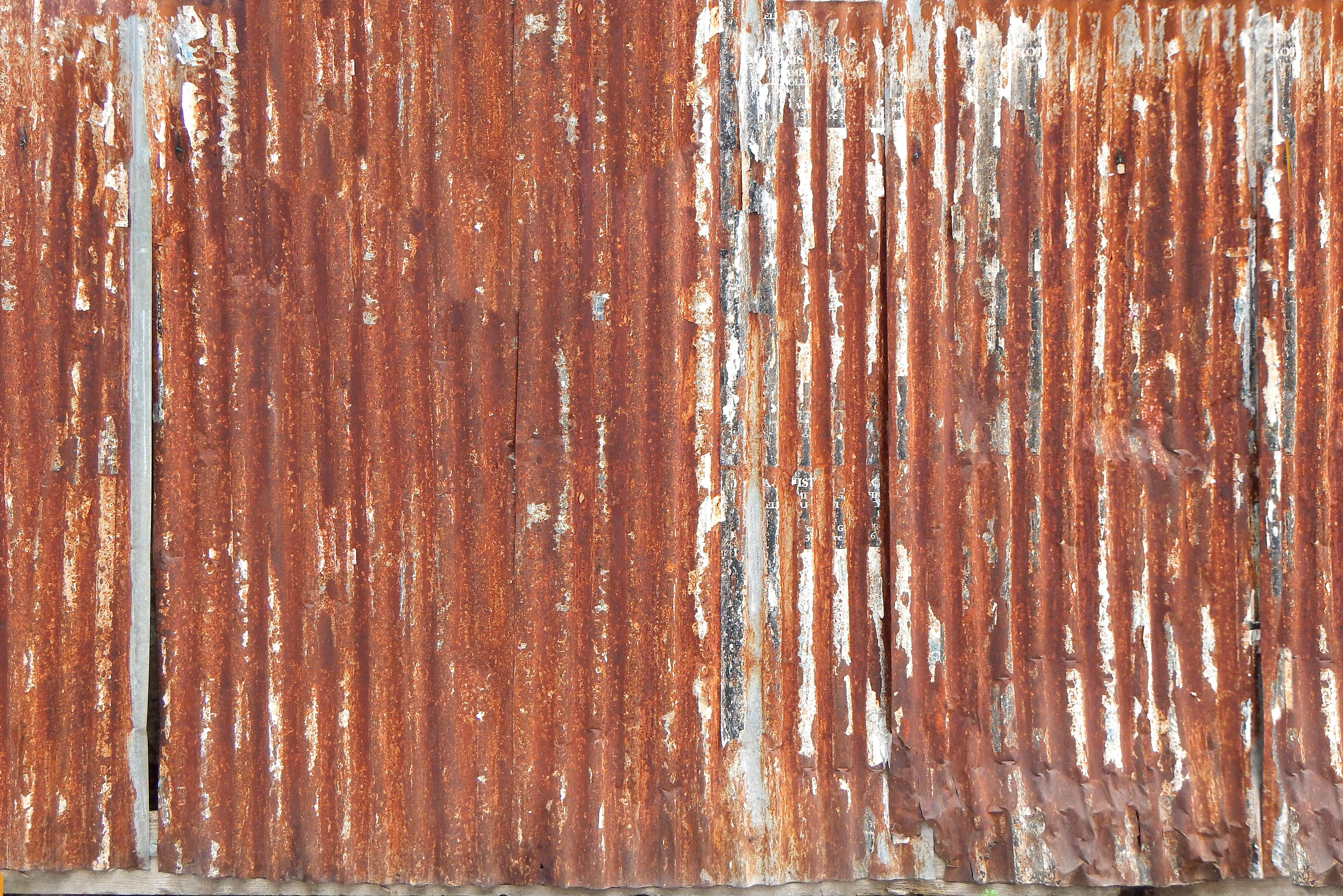 Fall Ceiling Wallpaper Hd Free Photo Rusty Panel Steel Rusty Surface Free
