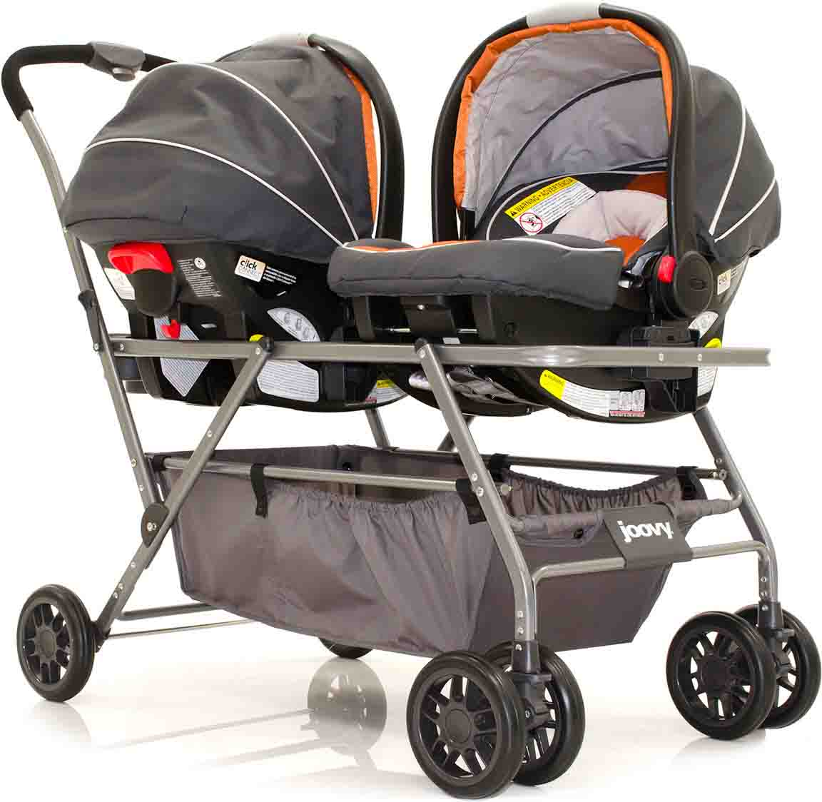 Peg Perego Stroller For Twins Twinroo Infant Car Seat Frame Double Stroller