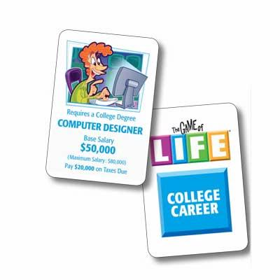 Game Play - The Game of LIFE - life career
