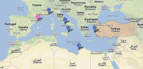 Distribución de la Civilización Griega