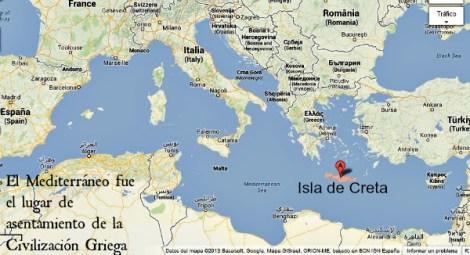 En el Mediterráneo se estableció la Civilización Griega