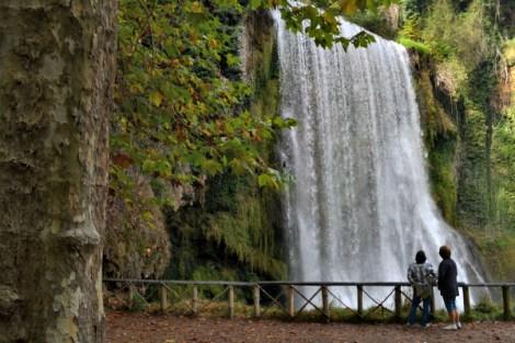 Cascada la Caprichosa en el Monasterio de Piedra