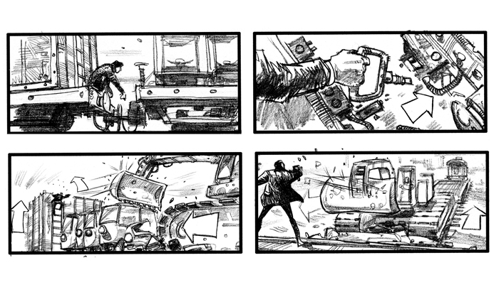 Jim-Cornish-James-Bond_1392453138jpg (700×425) Storyboard - film storyboards