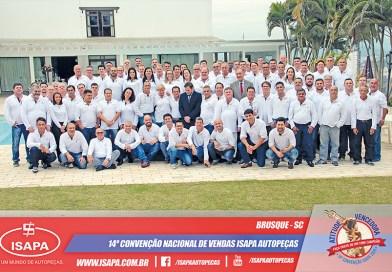 ISAPA promove sua 14ª Convenção Nacional