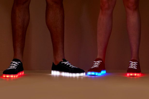 Team-GB-with-custom-made-illuminated-shoes