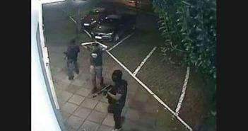 Imagem do momento da ação em Porecatu.