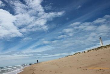 Las playas del faro de Trafalgar. Mirando al Atlántico