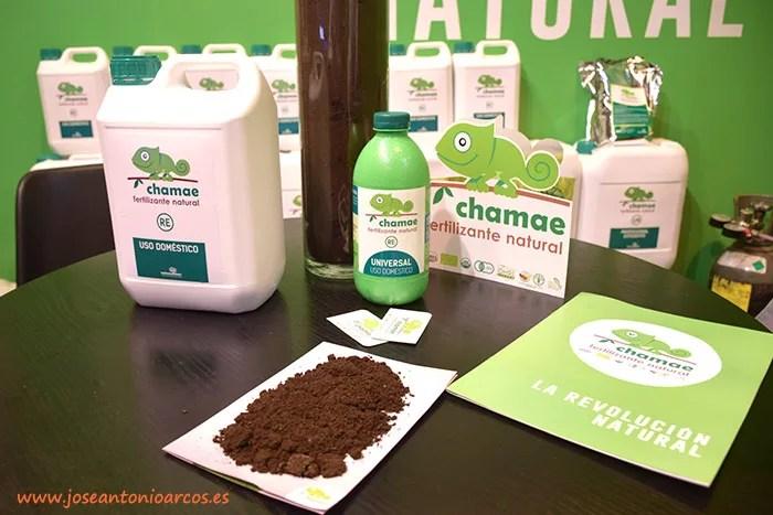 Fertilizantes naturales y ecológicos de Chamae.