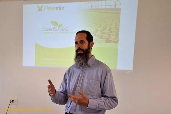 Yaniv Kitron, director general de EdenShield.
