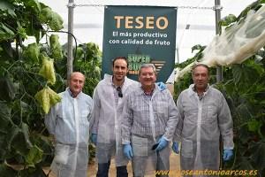 Angel-Moreno,-Emilio-Berenguer,-Paco-Fernández-(-Técnico-de-Agrinver)-y-Antonio-Molina.