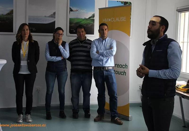 Manuel Ruiz Ayala, responsable de marketing de Clause, durante la presentación del catálogo de pimiento.