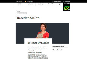 Enza Zaden is looking for Breeder Melon