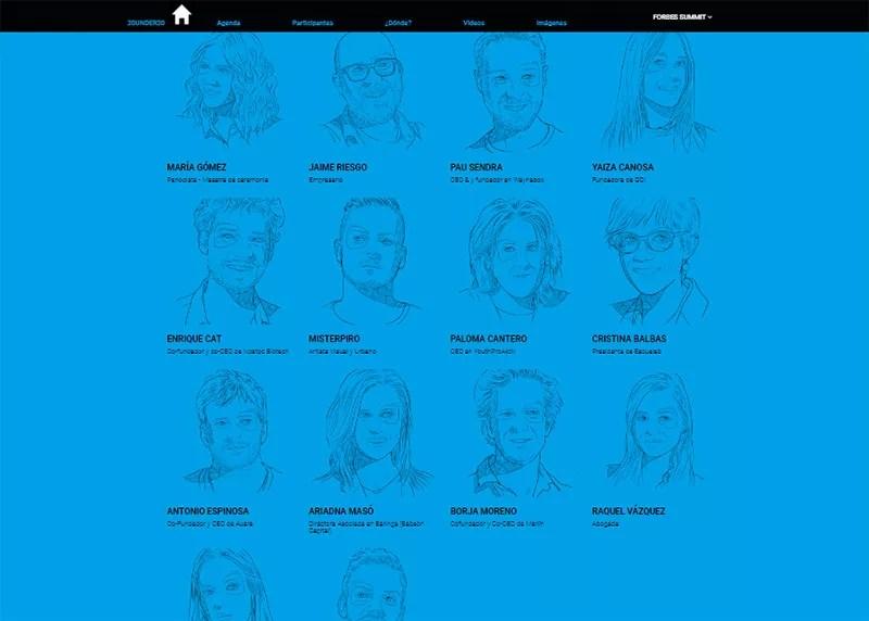 La lista Forbes de los 30 mayores jóvenes talentos de España.