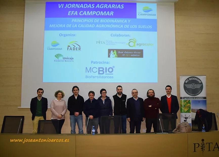 Jornadas de EFA Campomar en el PITA de Almería.