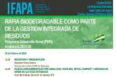 Día 23 de febrero. Jornada sobre la rafia biodegradable