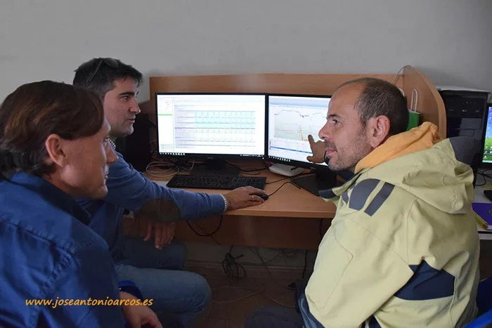 Antonio Cambil, José Miguel Acién y Francisco Alonso.
