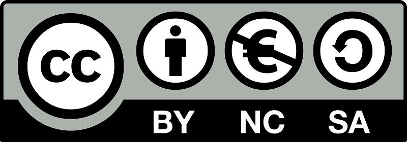 Licencias Creative Commons (Reconocimiento-No Comercial-Compartir Igual)