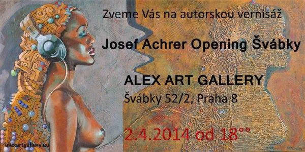 Pozvánka na Achrer opening Švábky
