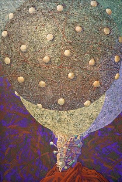 Neptunovo mlčení 13 cm x 153 cm