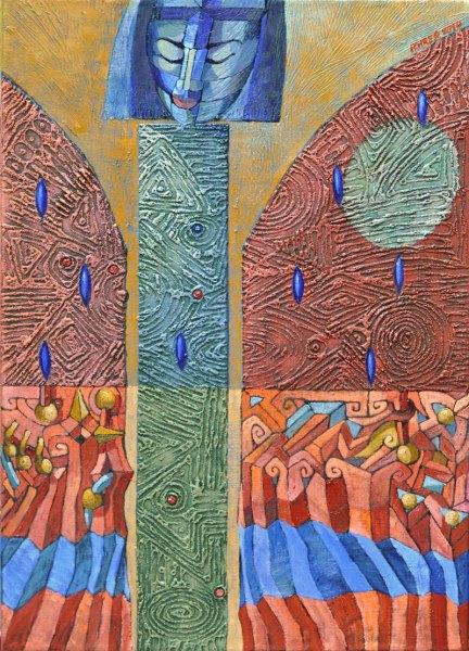 Josef Achrer Padlým motýlům 53 cm x 73 cm