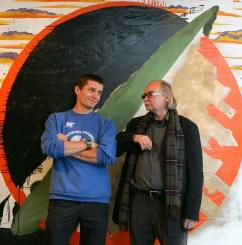 Josef Achrer - Společná výstava se synem Josefem Achrerem mladším v Bratislavě
