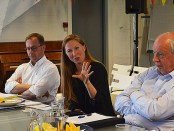 Norwegian Special Envoy to the Philippine peace process Elisabeth Slåttum of the Ministry of Foreign Affairs cited the need for local intiatives on peacebuilding in a forum held in Oslo Photo by Macel Ingles