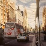 Gran vía desde Plaza de Callao a edificio Telefónica