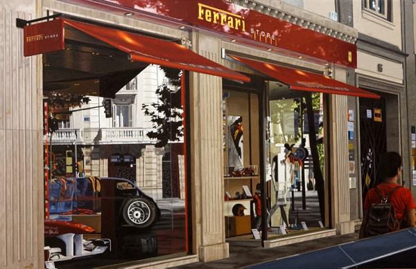Tienda Ferrari en Calle Serrano