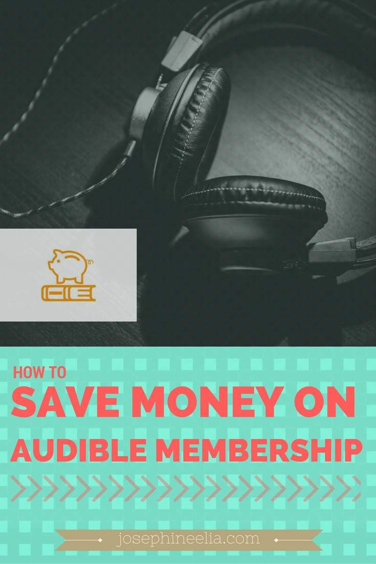 Amazon Audible Cancel Membership How To Save Money On Audible Membership Josephine Elia