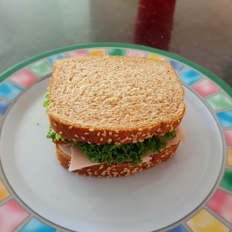 Sándwich de jamon
