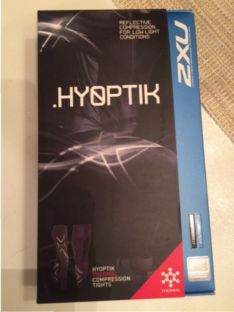 2XU Hyoptik Thermal Compression Running Tights
