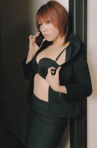 Kana Casually on the Phone