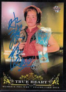 Ryo Mizunami Autograph Card
