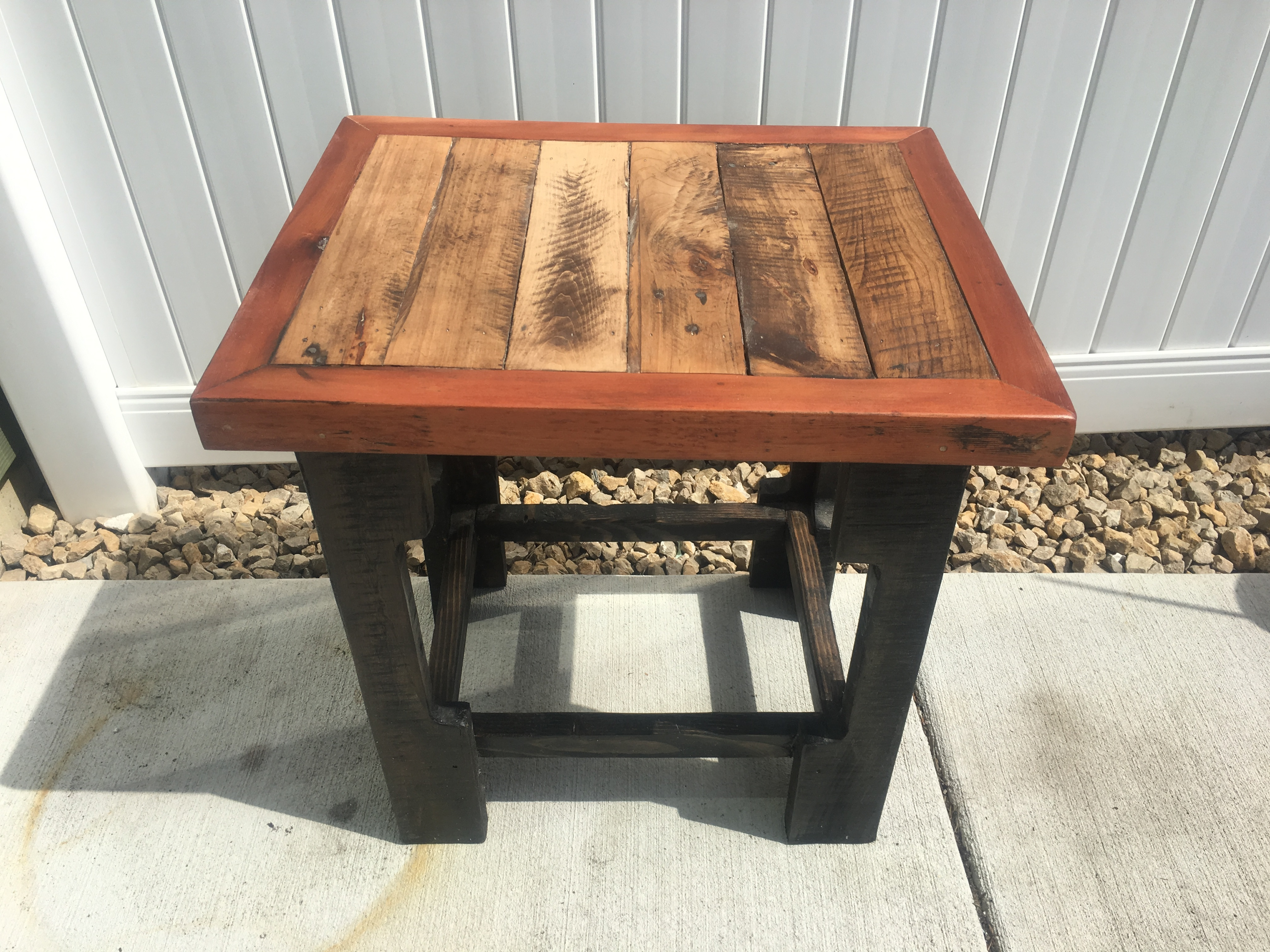 Building An End Table Beautiful Reclaimed End Tables Josh S Creative Woodworking