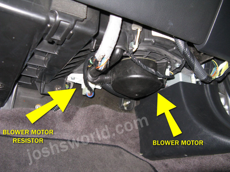 Acura TL Blower Stopped Working Fix \u2013 Josh\u0027s World