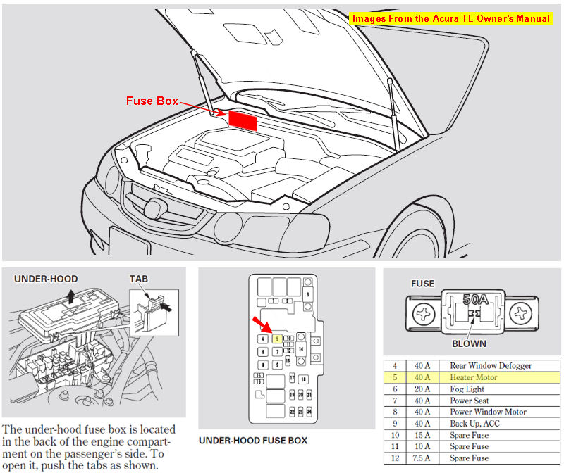 1998 Acura Rl Fuse Box - Wiring Diagram Progresif