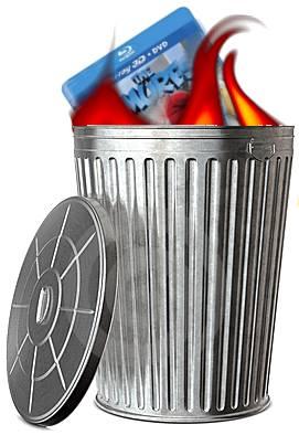 The Smurfs Blu-ray burning garbage