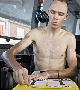 Chris Froome. Have you been lifting weights?