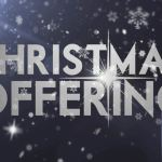 Christmas Offering Starts This Sunday @ Revolution
