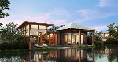 A luxurious tropical resort hotel. | Architecture + Design ...