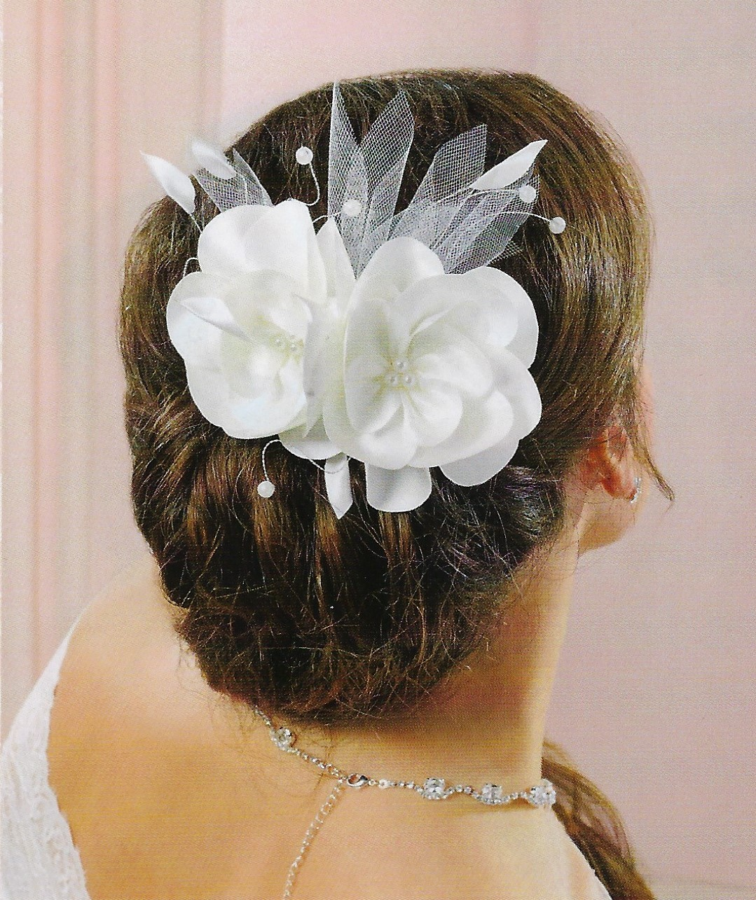 Coiffure Mariage Cheveux Rouge Coiffure Mariage Avec Rose Rouge
