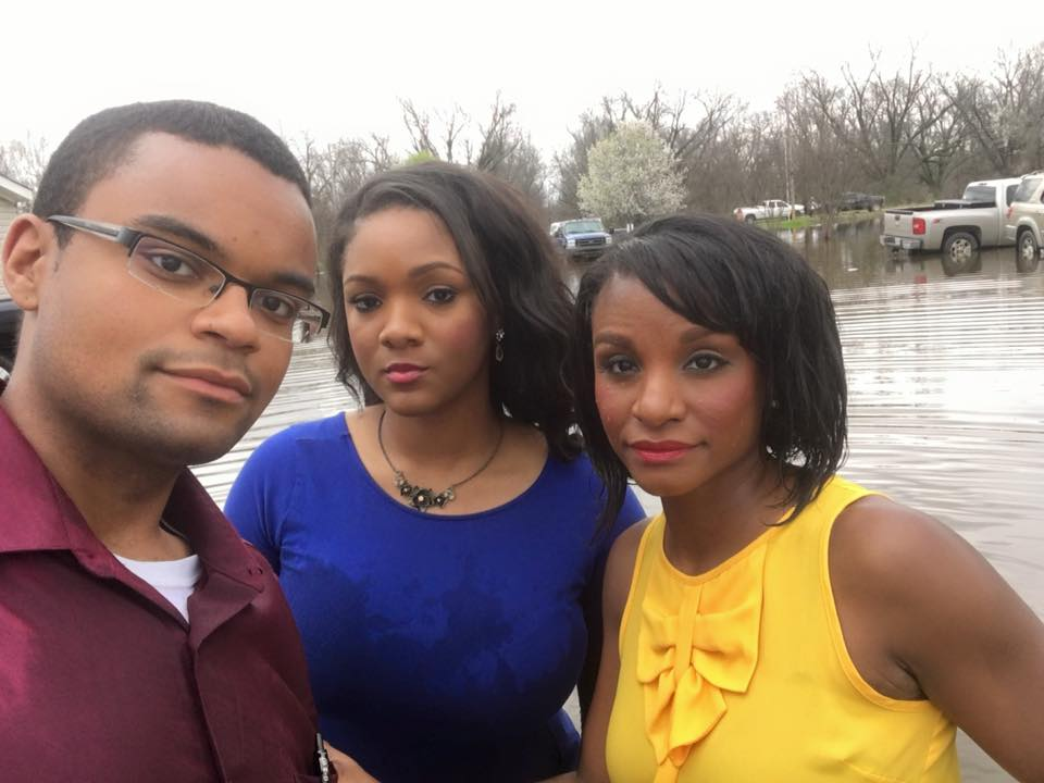 Aaron Cantrell, Danielle Beckford and Nicole Cross (Credit: TVNewsCheck)
