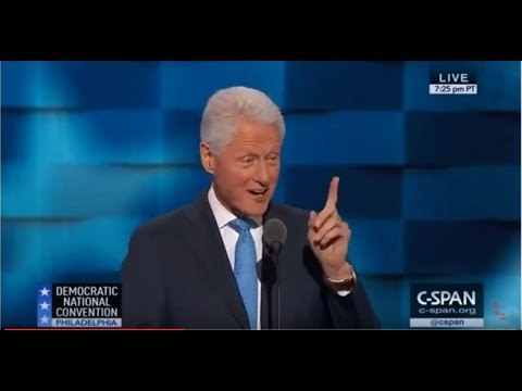 """Time magazine contributor Darlena Cunha described Bill Clinton's July 26 at the Democratic National Convention as """"literature in the spoken word, an effortlessly delivered memoristic essay with narrative components and personal vignettes expertly interwoven into a resume alive with clear human examples of Hillary Clinton's compassion, hard work and perseverance."""""""