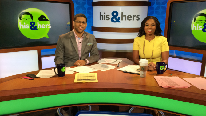 Michael Smith and Jemele Hill launched their own specially branded 6 p.m.