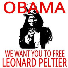 Supporters of Leonard Peltier have held daily vigils outside the White House.