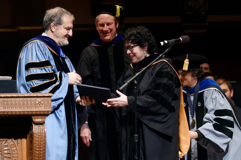 "Supreme Court Justice Sonia Sotomayor said Monday at the University of Michigan, """"When you look at the number of African Americans at the University of Michigan, there's a real problem there."" (Credit: Melanie Maxwell/Ann Arbor News)"
