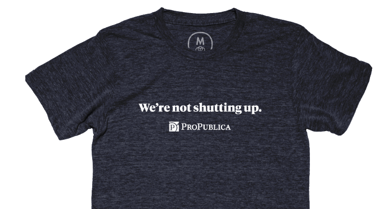 Pro Publica designed this shirt after Steve Bannon's comments to the New York Times.