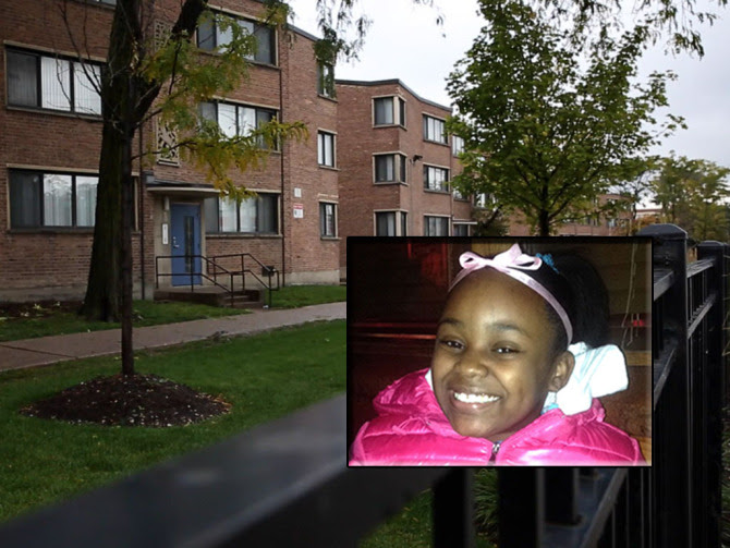 Parkway Gardens Apartments in Chicago's Woodlawn neighborhood, where Takiya Holmes was killed. (Credit: Jessica Koscielniak/Chicago Sun-Times)