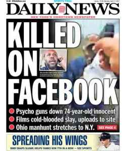 Killing became a national story.